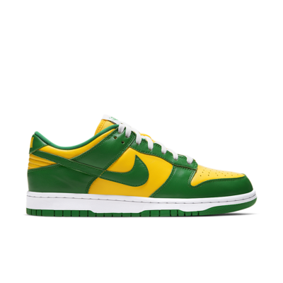 Nike Dunk Low 'Brazil' Varsity Maize/White/Pine Green CU1727-700