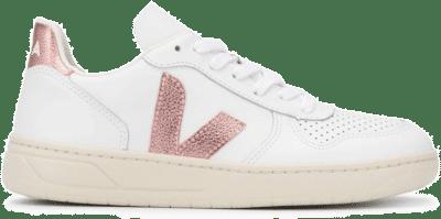 Veja V-10 Leather W white VX021907