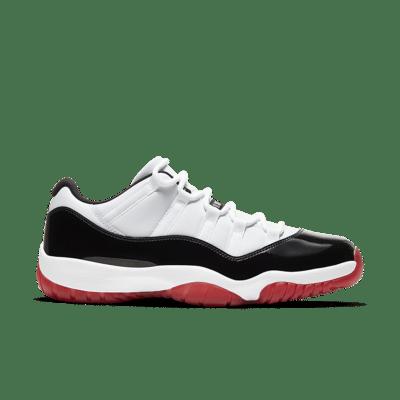 Air Jordan 11 Low 'Gym Red' White/Black/True Red/University Red AV2187-160