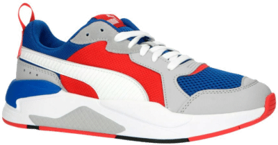 Puma X-Ray sportschoenen Blauw / Grijs / Rood 372602_04