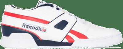 Reebok Pro Workout Lo Schoenen White / Collegiate Navy / Radiant Red EG6470