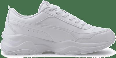 Puma Cilia Mode sportschoenen voor Dames Zilver / Wit 371125_02