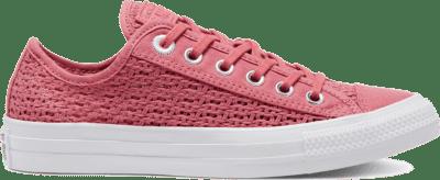 Converse CTAS OX SHIMMER/MADDER PINK/WIT Madder Pink/White/Black 567656C