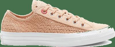Converse CTAS OX SHIMMER/MADDER PINK/WIT Shimmer/Madder Pink/White 567657C