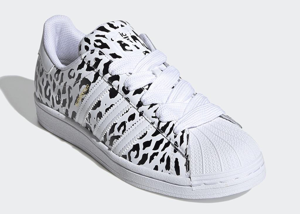 Op safari met de nieuwe adidas Superstar Cheetah Print