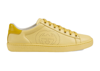 Gucci Ace Interlocking G Yellow (W) 598527 AYO70 7460