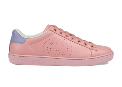 Gucci Ace Interlocking G Pink (W) 598527 AYO70 5870