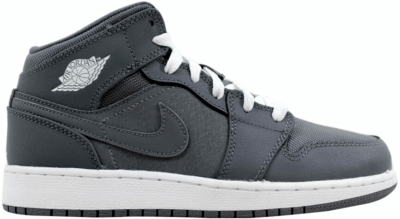 Jordan 1 Mid Cool Grey (GS) 554725-022