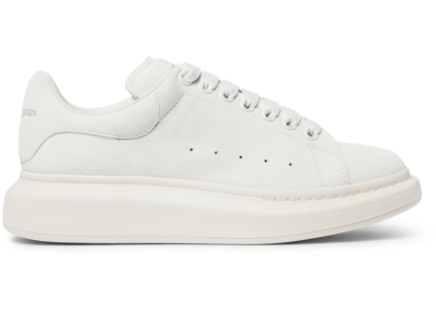 Alexander McQueen Oversized White Suede 553761WHV67