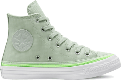 Converse Trail to Cove Chuck Taylor All Star High Top voor dames Green Oxide/Ghost Green/White 567639C