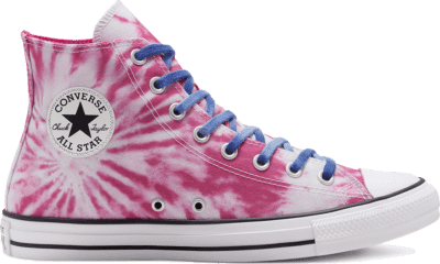 Converse CTAS HI CERISE PINK/GAME ROYAL/WIT Cerise Pink/Game Royal/White 167928C