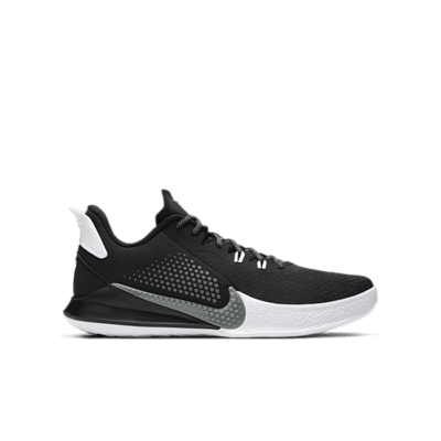 Nike Mamba Fury Black White Smoke Grey CK2087-001