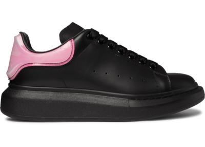 Alexander McQueen Oversized Bright Pink Black 606549WHX9H