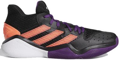 adidas Harden Stepback Black Purple Coral EF9889