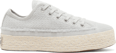 Converse Summer Getaway Chuck Taylor All Star Espadrille Low Top Mouse/White/Natural 567688C