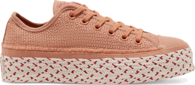 Converse Summer Getaway Chuck Taylor All Star Espadrille Low Top Rose Gold/White/Madder Pink 567687C