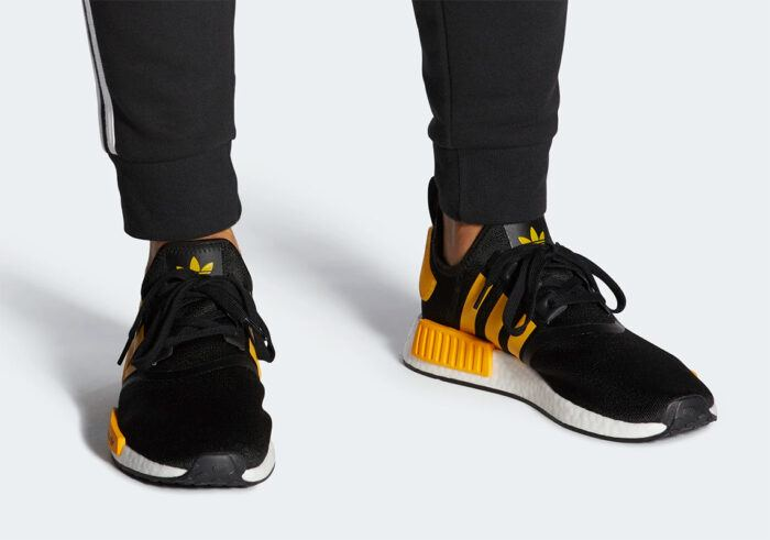 nmd r1 Adidas black gold