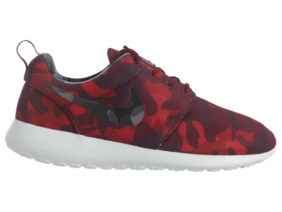 Nike Roshe One Print Deep Garnet Black-Gym Red-Vry Brry (W) 599432-606