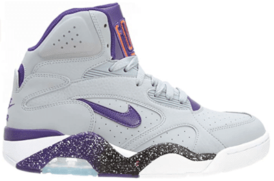 Nike Air Force 180 Mid Wolf Grey Court Purple 537330-050