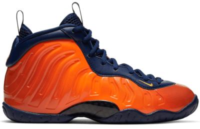 Nike Air Foamposite One Blue Void Rugged Orange (GS) 644791-407