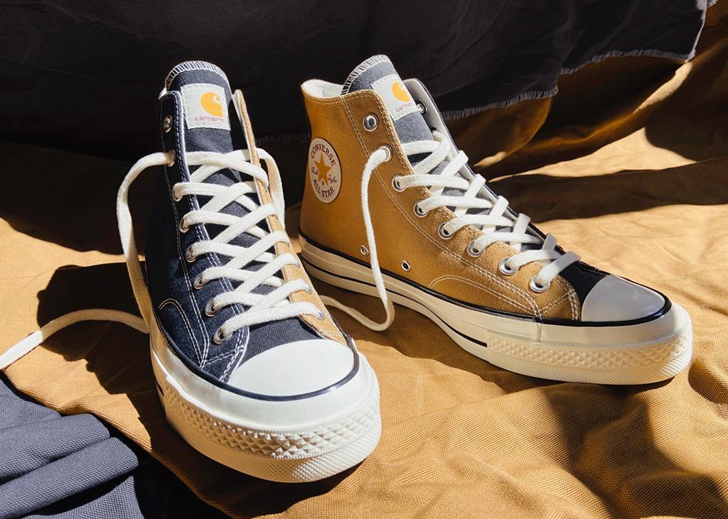 Carhartt werkt samen met Converse voor de Chuck 70 sneaker