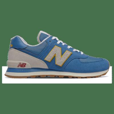 Herren New Balance 574 Mako Blue/Chromatic Yellow ML574SCA