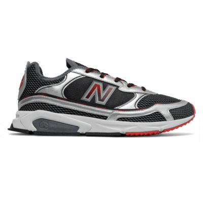 New Balance X-Racer Black/Silver Metallic