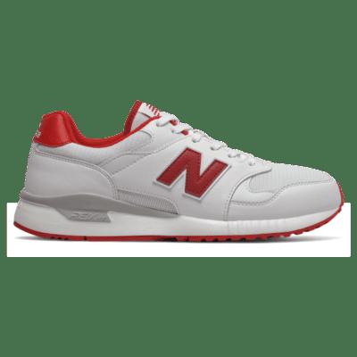 New Balance 570 White/Team Red