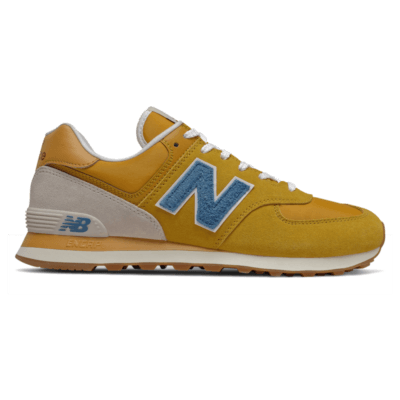 Herren New Balance 574 Varsity Gold/Mako Blue ML574SCB