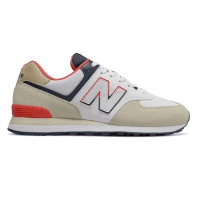 Herren New Balance 574 Bone/Toro Red ML574SCG