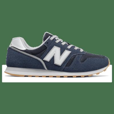 New Balance 373 Natural Indigo/White