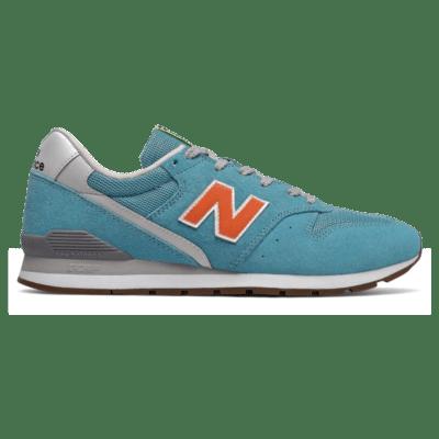 New Balance 996 Wax Blue/Varsity Orange
