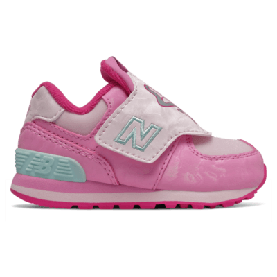 New Balance Hook and Loop 574 Peony/Pink