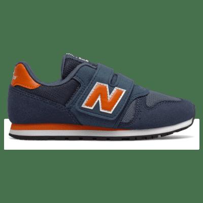 New Balance 373 Hook and Loop Stone Blue/Vintage Orange
