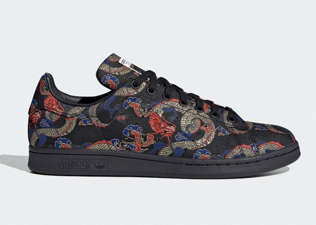 Boten en draken inspireren de nieuwe adidas Stan Smith Dragon Print