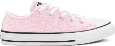 Converse Daisy Crochet Chuck Taylor All Star Low Top voor kids Blushing Bride/White/Black 668284C
