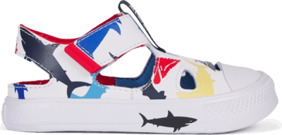 Converse Shark Bite Chuck Taylor All Star Superplay Sandaal Low Top voor peuters White/Obsidian/Coast 768149C