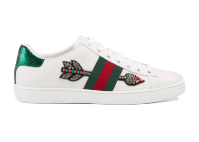 Gucci Ace Embroidered Arrow (W) _454551 A38G0 9064