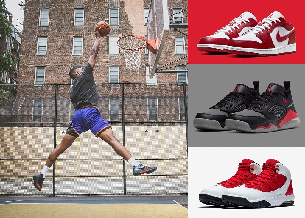 Drie van die: Sneakers to be like Mike
