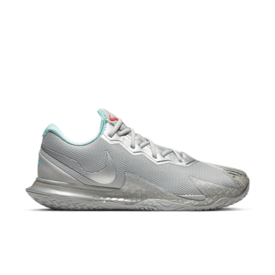NikeCourt Air Zoom Vapor Cage 4 Hardcourt Zilver CD0424-004