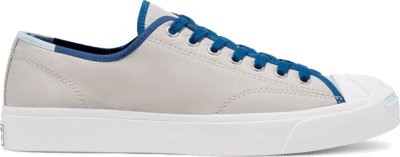 Converse Unisex Twisted Vacation Jack Purcell Low Top Pale Putty/Court Blue 167621C
