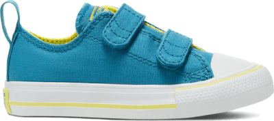Converse Seasonal Color Easy-On Chuck Taylor All Star Low Top voor peuters Egyptian Blue/Zinc Yellow 767793C