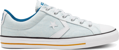 Converse Unisex Twisted Vacation Star Player Low Top Agate Blue/White/Court Blue 167672C