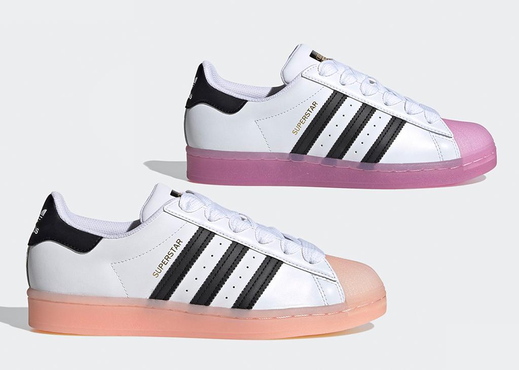 Nieuwe adidas Superstar met jelly zool, om jealous van te worden!