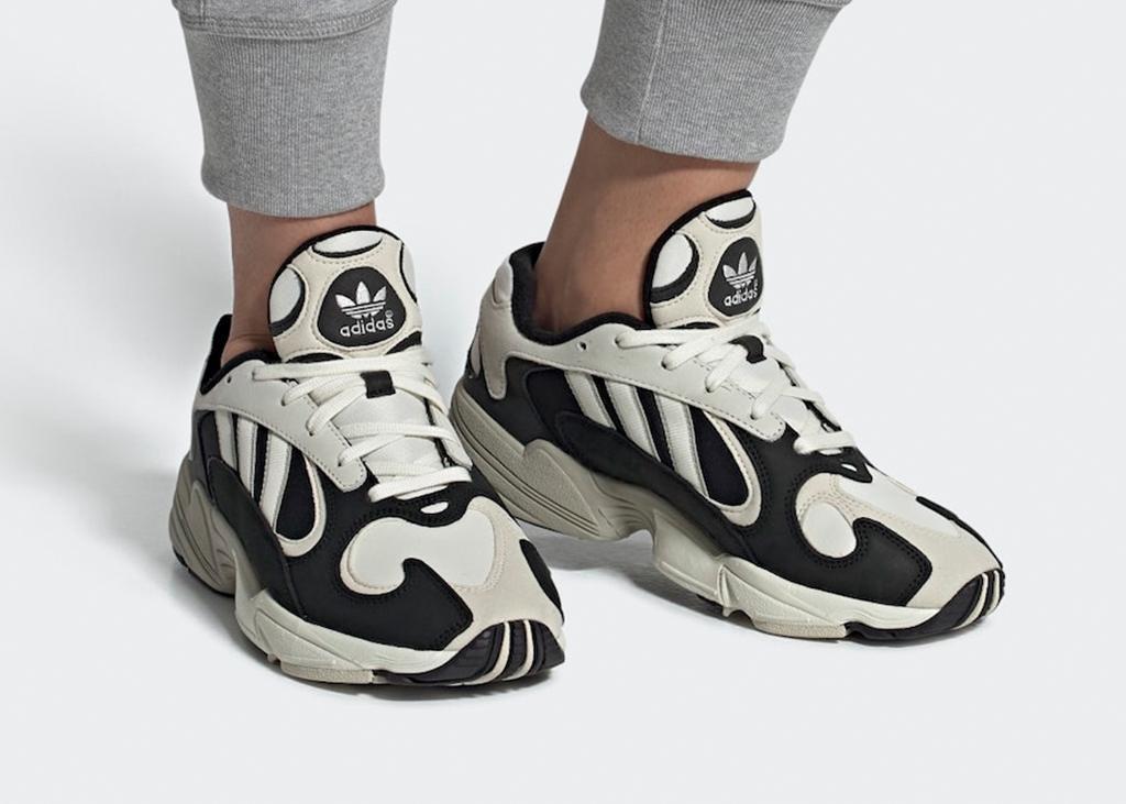 Jong geleerd is oud gedaan. De adidas Yung-1 black / off-white