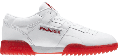 Reebok Workout Clean Ripple Ice White Red CN0643