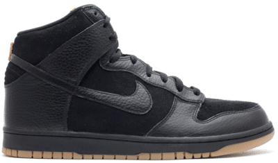 Nike Dunk High Black Gum (2011) 407920-020