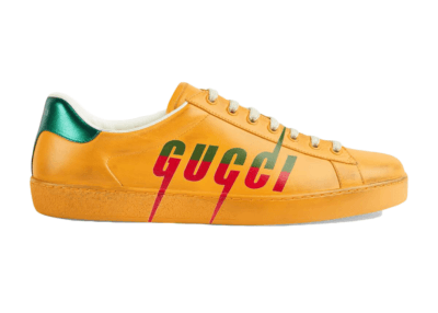 Gucci Ace Blade Yellow 576137 A38V0 7670