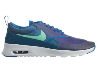 Nike Air Max Thea Print Blue Spark Green Glow (W) 599408-405