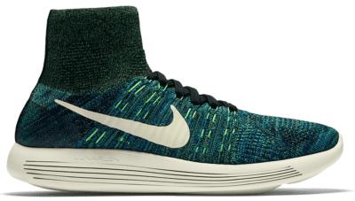 Nike LunarEpic Flyknit Photo Blue Poison Green 818676-003